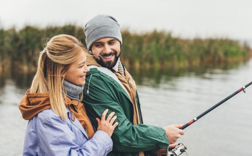 Gaveidé: Tag din kæreste eller ven med på fisketur