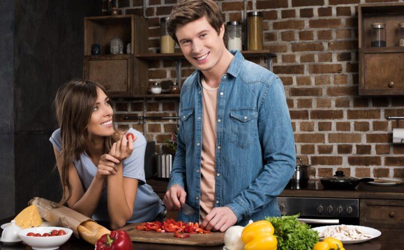 Par der laver mad sammen