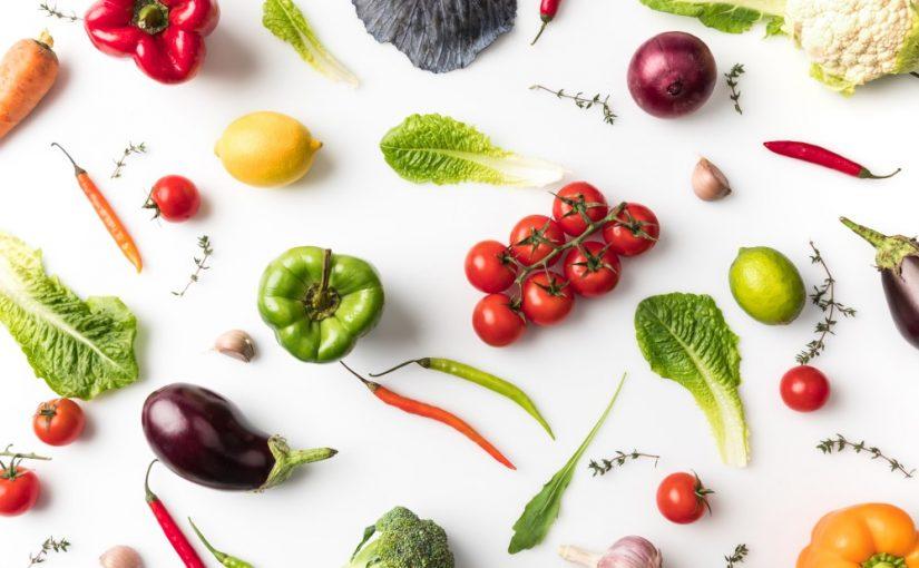 Uforarbejdede grøntsager